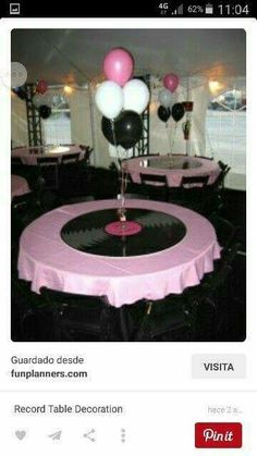 Table Deco For Or Rockabilly