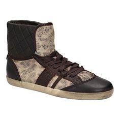 Liebeskind LK2027 Damen Schuh High-Top Sneaker Schnürer Leder Braun, Schuhgröße:41 - Sneakers für frauen (*Partner-Link)