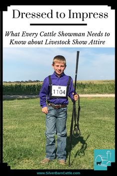 It is important that your cattle showmanship attire not distract from your animal. In this blog post, we share tips for looking your best in the show ring.