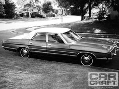 Pictured is a '71 Galaxie.  We had a '72, dark brown with white vinyl.