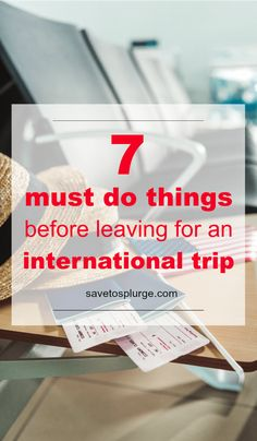 7 Things You Must Do Before an International Trip : Got a big trip planned? Use these international travel tips before your next adventure! Travelling Tips, Packing Tips For Travel, Travel Hacks, Travel Ideas, Packing Tricks, Packing Outfits, Traveling Europe, Backpacking Europe, Packing Lists