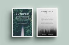 Download J U N I P E R Flyer Graphic Templates by FortySixandTwo. Subscribe to Envato Elements for unlimited Graphic Templates downloads for a single monthly fee. Subscribe and Download now!