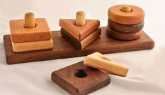 Awesome wooden toys, made in my own back yard!