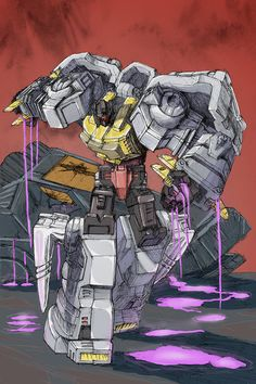 Grimlock Vs Trypticon by TGping on DeviantArt Grimlock Transformers, Transformers Optimus Prime, Gi Joe, Saturday Morning Cartoons 80s, Transformer Tattoo, Hasbro Studios, Dragon Ball, Transformers Characters, Cartoon Crossovers