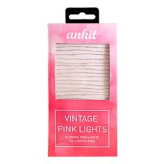 Add romance and femininity to your den or dorm with these vintage string lights…