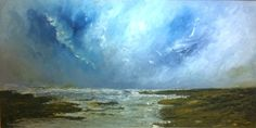 """Darren Stevenson - Camel Estuary Oil on Board 40"""" x 20"""" £1,295 or 10 interest free payments of £129.50 with No Deposit"""