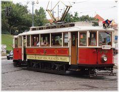 Older style Prague tram