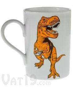 Fire-King Sinclair Gas Dinosaurs Advertising Coffee Mug white ...