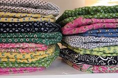 Reminds me of piles of fabric in Provencale markets...that was a lifetime ago!
