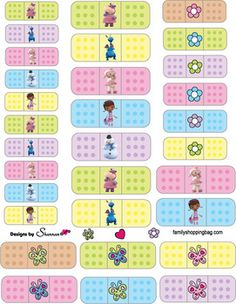 Stickers, Doc McStuffins, Stickers - Free Printable Ideas from Family Shoppingbag.com