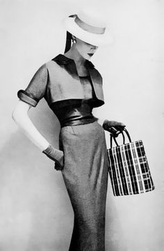 Harper's Bazaar, 1954  Where did these styles go, and how can we get them back?