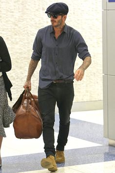 Mode David Beckham, Estilo David Beckham, David Beckham Style, David Beckham Fashion, Look Fashion, Autumn Fashion, Mens Fashion, Fashion Black, Fashion Ideas