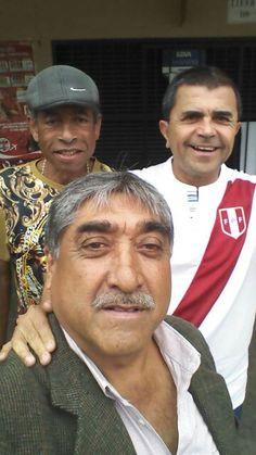 Esta gente del barrio UV3. El general, Cachete Egusquiza y Maito. June 22, 2015.