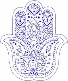 Palm Hamsa embroidery design by TuStitch on Etsy Free Machine Embroidery Designs, Floral Embroidery, Embroidery Stitches, Hand Embroidery, Embroidery Tattoo, Embroidery Materials, Hamsa Tattoo Design, Creeper Minecraft, Fatima Hand