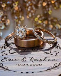 Wedding Pins, Our Wedding, Wedding Ideas, Cushion Cut Diamonds, Wedding Rings Vintage, Wedding Styles, Halo, Rose Gold, Engagement Rings