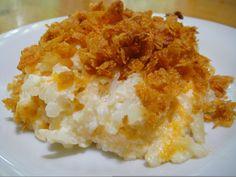 Eager Living: Hash Brown Potato Casserole