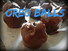 Easy Oreo Ball Recipe - only 4 ingredients!