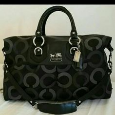 """Coach Hand&Shoulder  Bag Authentic monogram print Coach  Good conditions no any stain or rips,tear  Outside very clean ,inside have some ink mark. Have shoulder strap  Code #D0982-13862 Measurement: 16""""x10""""x5"""" Retail price  $345 PRICED ARE FIRM Coach Bags Shoulder Bags"""