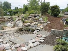 rockery garden stones az home plan river rock landscapinglandscaping ideasbackyard