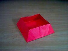 台形の箱の折り方 trapezoid box