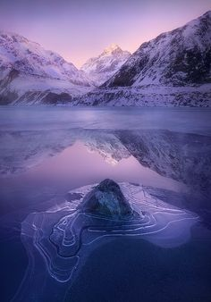 Imprint, Aoraki National Park, New Zealand, by Abdulla Almajed, on 500px.