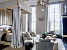 A Grand London Townhouse Gets a Luxe Update Photos | Architectural Digest