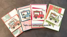 Hab Ich Selbstgemacht Geburtstagskarte Stampin Up Lecker Laster Tasty Truck