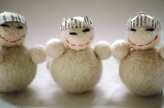 Items similar to King Snowman Christmas Decoration or Ornament on Etsy