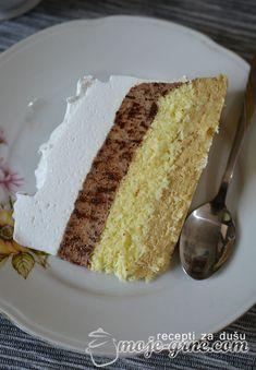 Torte Recepti, Vanilla Cake, Mousse, Cakes, Desserts, Recipes, Food, Pies, Tailgate Desserts