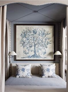 Gorgeous blue bedroom {The Relished Roost}