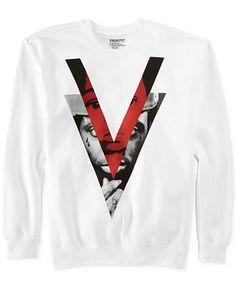 Trukfit Double V Crew-Neck Sweatshirt