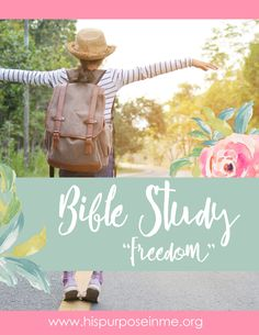 """Join our online bible study about """"Freedom"""" – SOON! Are you ready? We are going to be studying the bible on the topic of """"Freedom"""" starting in April! – Join us …"""