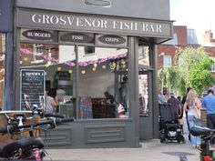 Grosvenor Fish Bar - the best chip place in Norwich! Free Logs, Norwich England, Best Chips, Fish And Chip Shop, Tally Ho, Fish And Chips, Bar Ideas, Norfolk, Places To Eat