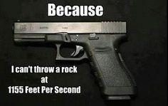 ROCK,  NEWSPAPER,  NEWS ANCHOR, LIBERALS,  GUN...........I  WIN!   Its Logical -