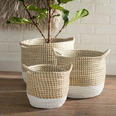 Found it at Joss & Main - 3-Piece Seagrass Basket Set