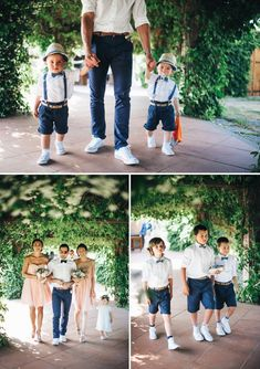 Groom and pageboy