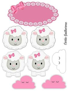Ovelha Eid Crafts, Diy And Crafts, Crafts For Kids, Paper Crafts, Scrapbook Albums, Scrapbook Paper, 14th Birthday Cakes, Sheep Face, Wool Applique