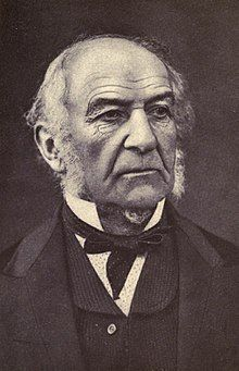 William Ewart Gladstone (Liberal) served as Prime Minister from 1868 to 1874 and again from 1880 to 1885.  LM died in 1882 during Gladstone's second term.