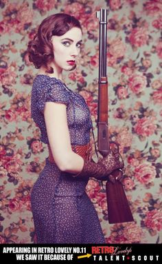 Reminds me of my smoking hot Red and her Marlin lever action!