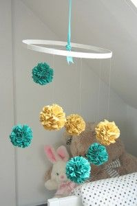 Have some round rose flower balls with ribbon much larger than this. Just trying to get ideas for how to mount them.