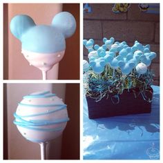 baby mickey mouse cake pop ideas | Mickey Mouse cake pops
