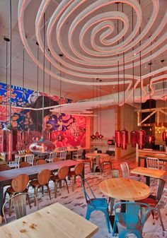Restaurant Interior Design Gorgeous!!! China Chilcano 02