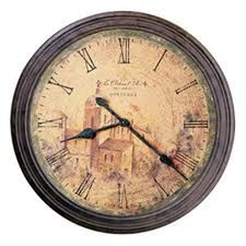 Big, antique clocks. Every home needs at least one. And who can hate such a beautiful, distressed finish? Like! Like!