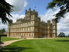 Highclere Castle, the setting of Downton Abbey
