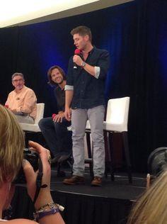 Robert, Jared, and Jensen at VanCon 2013