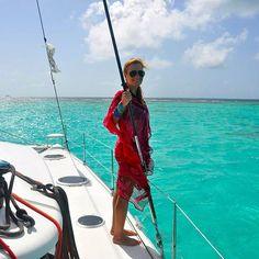 Quem aí já acordou no climão do feriado? 💦 #tbt #grenadines #caribe #vacation