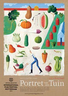 Film poster Portret van een tuin (Rosie Stapel) #IFFR
