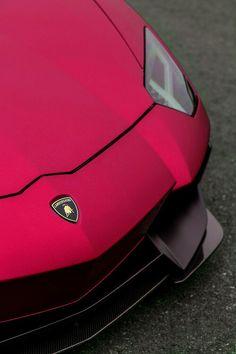 fuschia Lamborghini