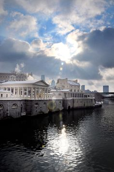 ✮ Sun Burst Over the Fairmount Water Works - Philadelphia PA