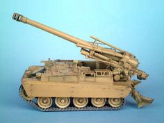 AMX Mk F3 155mm Self-Propelled Howitzer 1/35 Scale Model